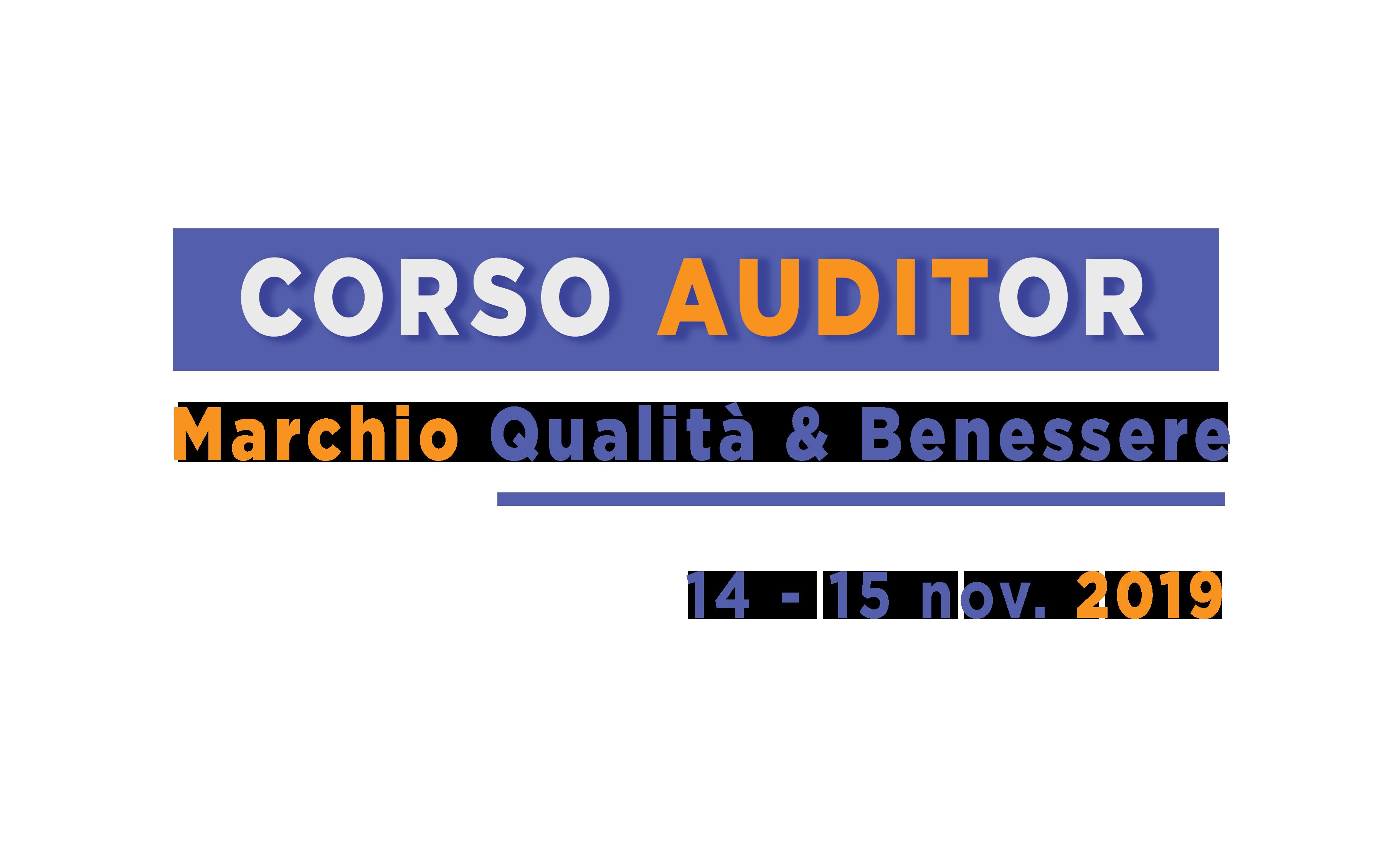 Corso Auditor